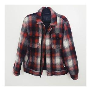 Levi's Plaid Jacket
